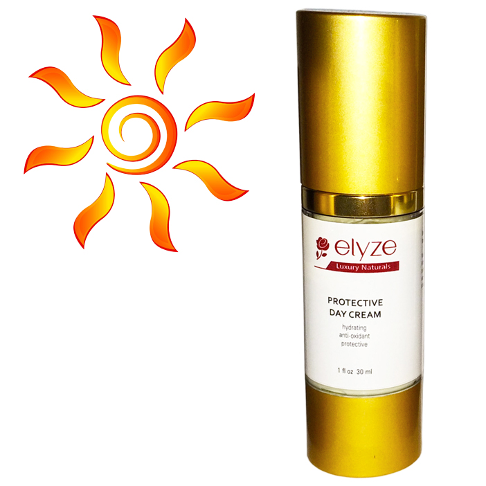 Day cream for sun protection