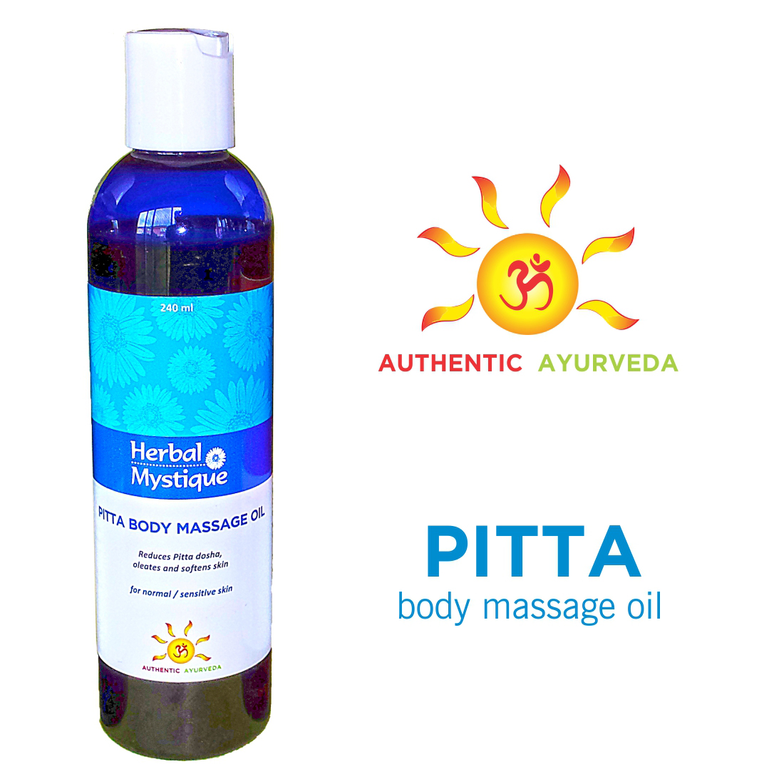 Ayurveda Pitta massage oil for body massage or Abhyanga